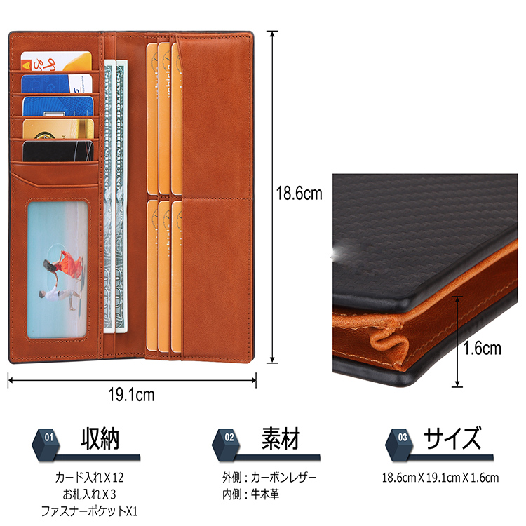 AIVI leather card holder wallet manufacturer for iphone XR-3
