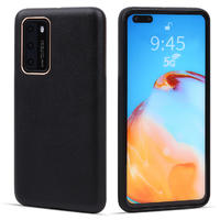 Genuine Leather Phone Case for Huawei P40 Pro Case Mobile Phone Case Shockproof Cover For Huawei P40