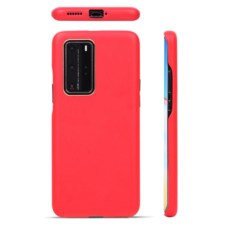 Mobile Accessories Phone Case For Huawei P40 Phone Case Official High Quality Leather Cases
