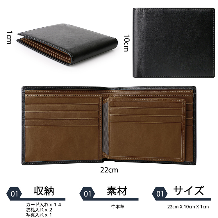 AIVI leather card holder wallet mens online for iphone 8 / 8plus-7