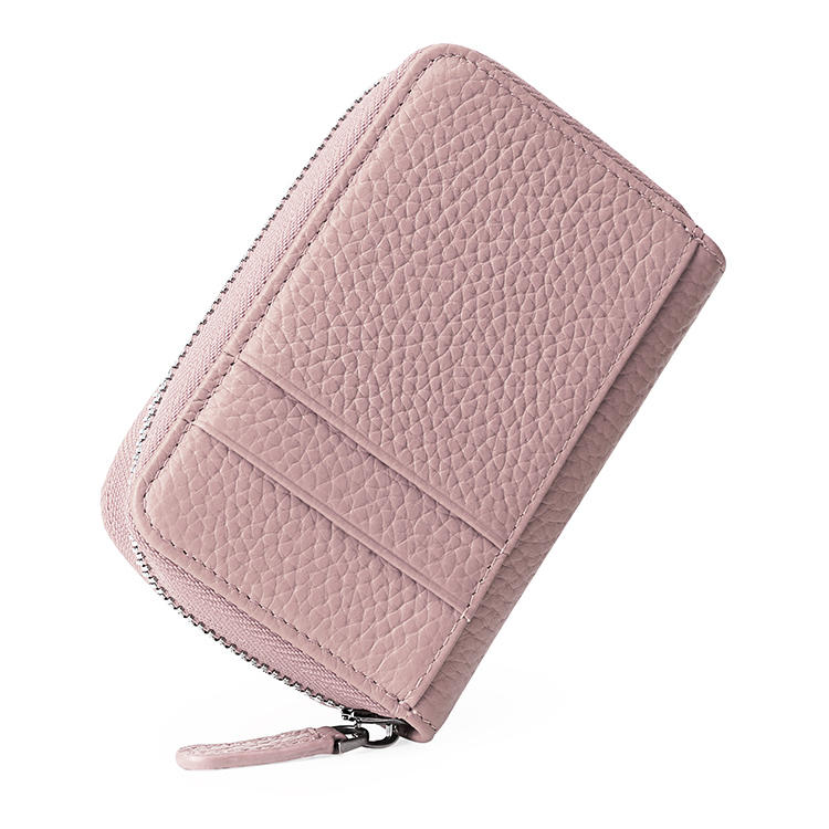 Luxury Zipper Style Short Wallet For Women