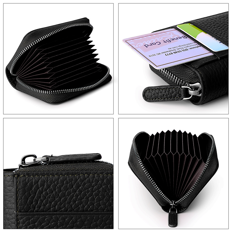 soft leather card holder wallet supply for iphone 8 / 8plus-3