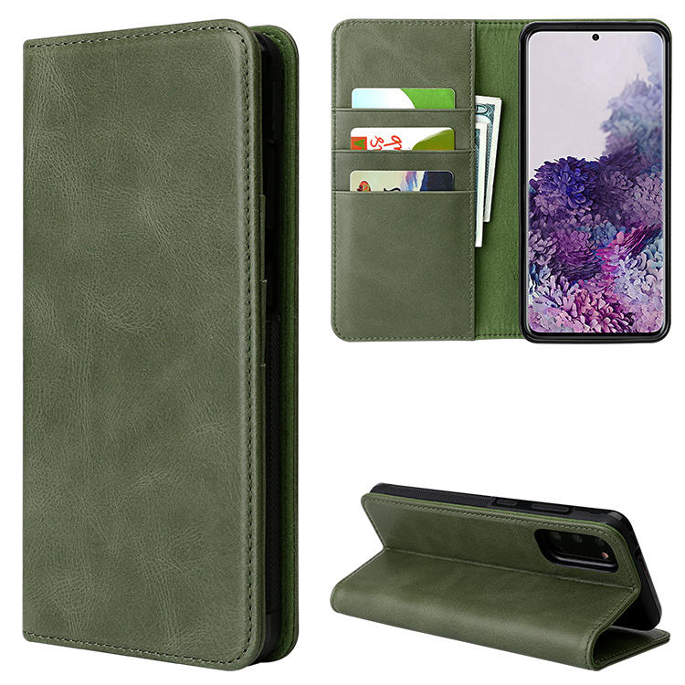2020 Hot Selling Fashion Wallet Cover High Quality Leather Phone Case  For Samsung Galaxy S20 S20+ S20 Ultra 5