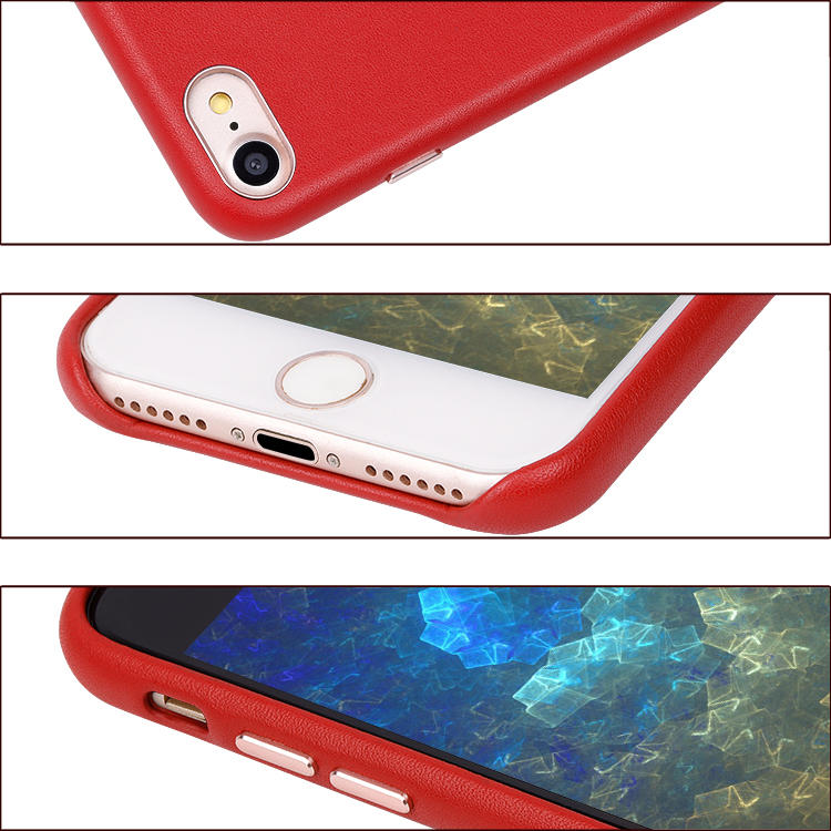 Mobile Phone Case Manufacturer High Fashion Soft Genuine Leather for Apple iPhone SE 2