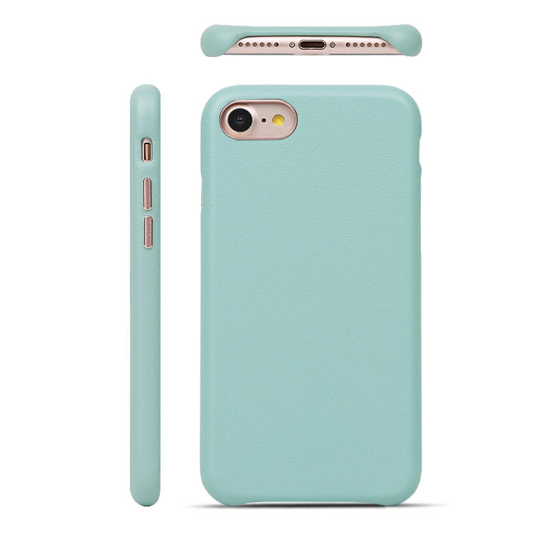 For iphone se 2 Soft Shockproof Microfiber Cloth Lining Back Cover Slim PU Leather Phone Case