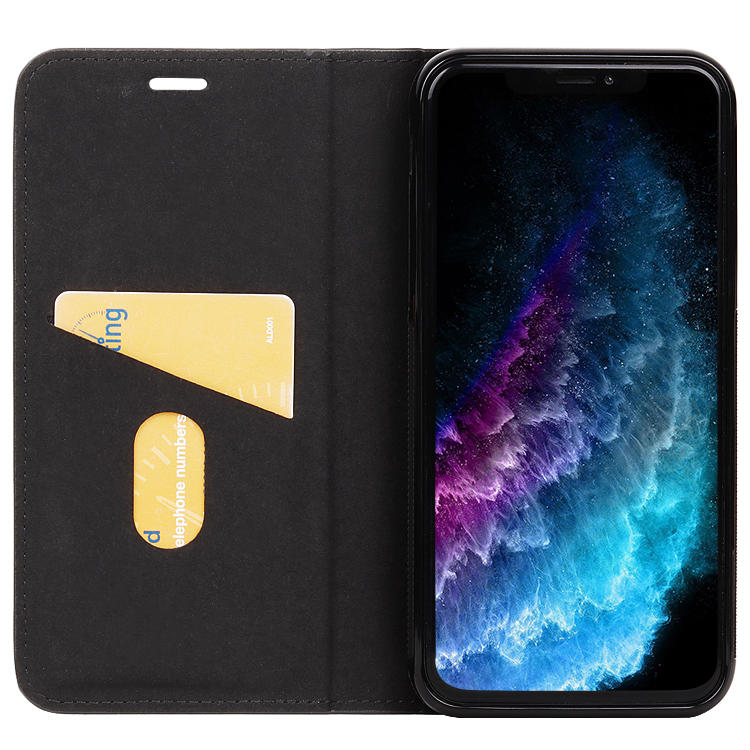 For iPhone X/XS Case Cover Luxury Genuine Leather Wallet Flip Cover Mobile Phone Cases For Iphone XS With Card Slot