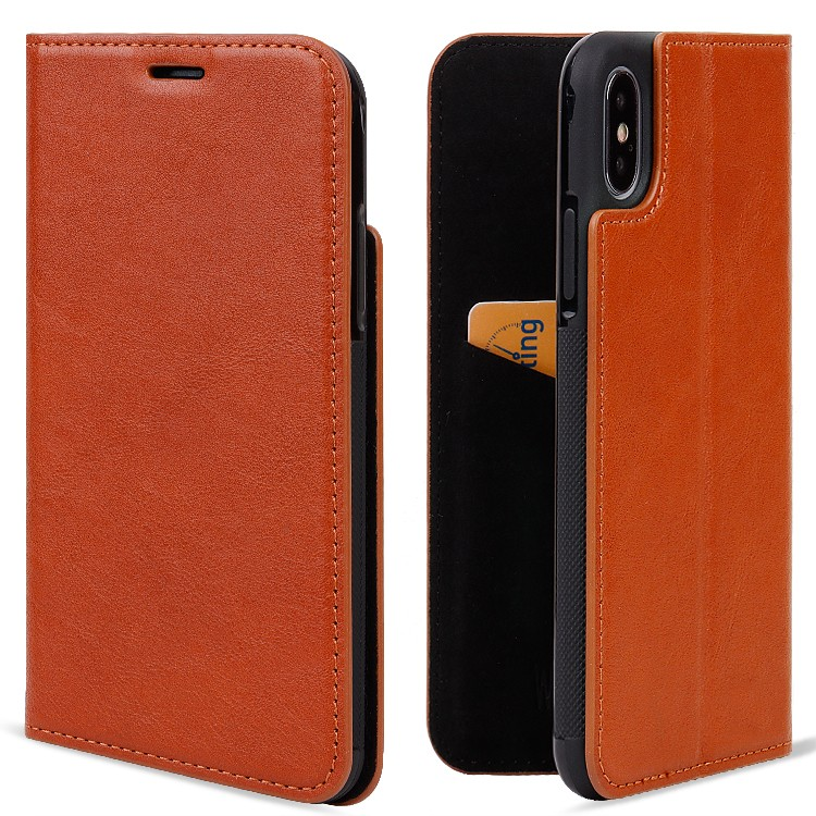 AIVI beautiful quality leather iphone case for iPhone X/XS for iphone XS-5