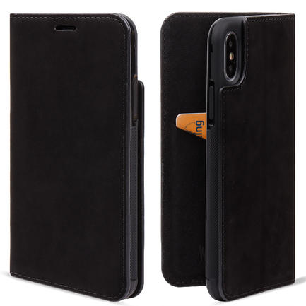 Nubuck leather Wallet Phone Case For iPhone X/XS/XS MAX Case