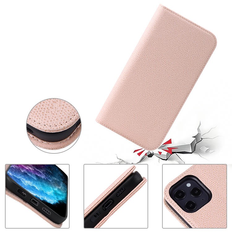 For iPhone 12 Genuine Leather Phone Case 5.4 inch