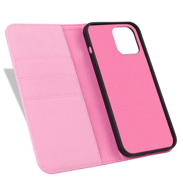 Genuine Leather Business Mobile Phone Case for iPhone 12 Custom Handmade Phone Case
