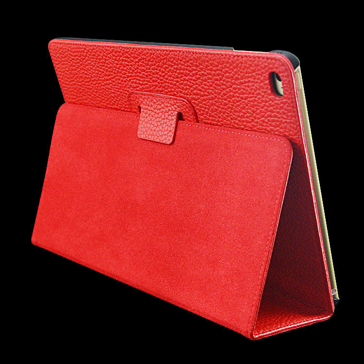 Genuine Leather Case Luxury case for iPad Pro 12.9 Strong Magnetic Folding Stand