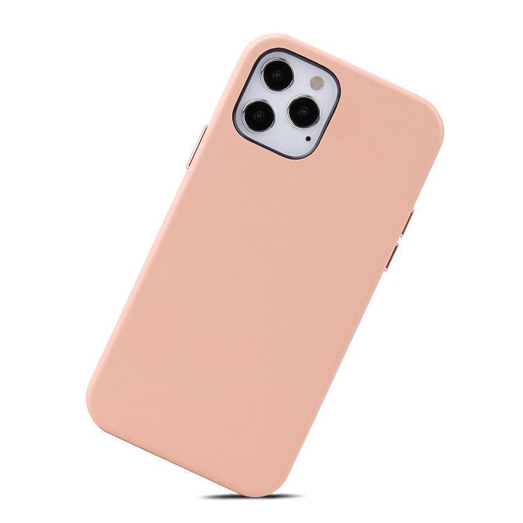 Newest Genunie Leather Phone Case Customized leather Phone Back Cover For iPhone 12