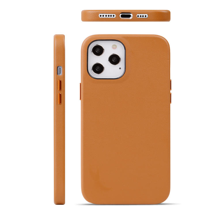 For iPhone 12 case PU Leather Mobile Phone Case Wholesale Price Back Cover for iphone 12