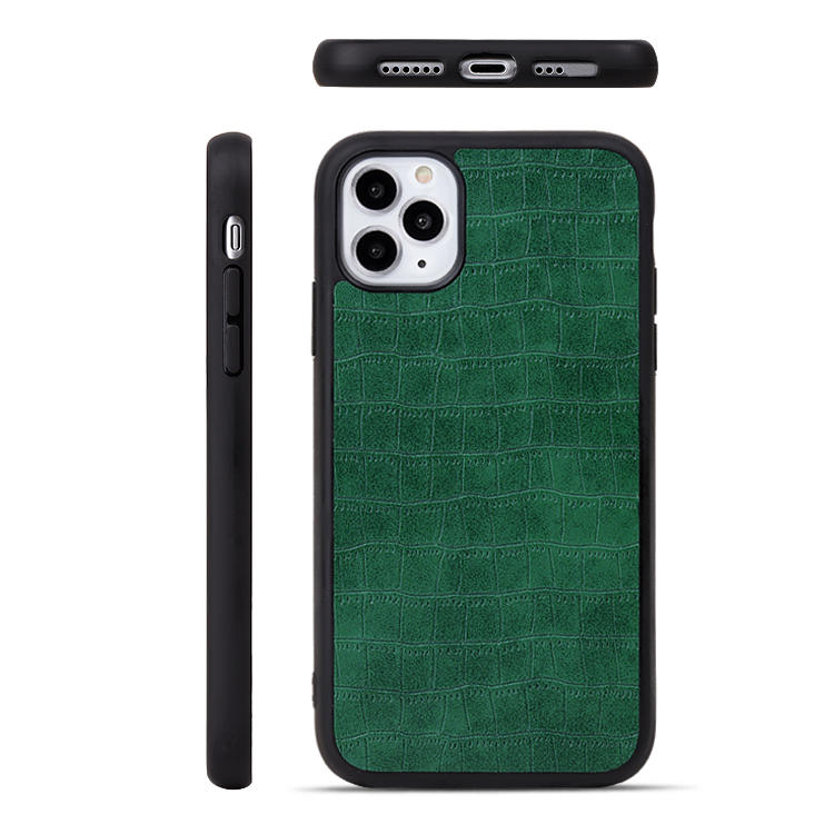 Original Leather Case For iPhone 11 Custom LOGO Phone Case Durable PU Leather Cellphone Back Cover For iPhone 11 Case