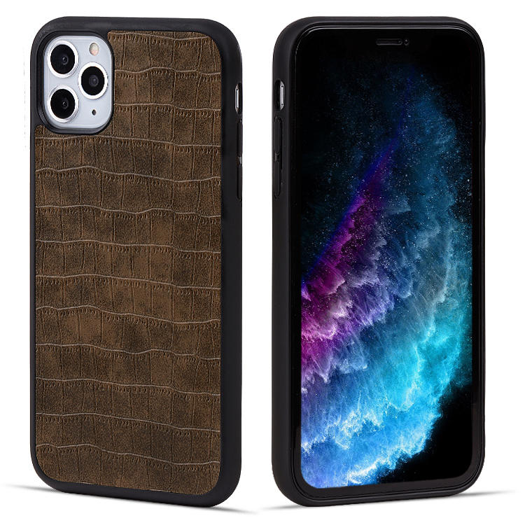 Original Leather Case For iPhone 11 Custom Phone Case Durable PU Leather Cellphone Back Cover For iPhone 11 Case