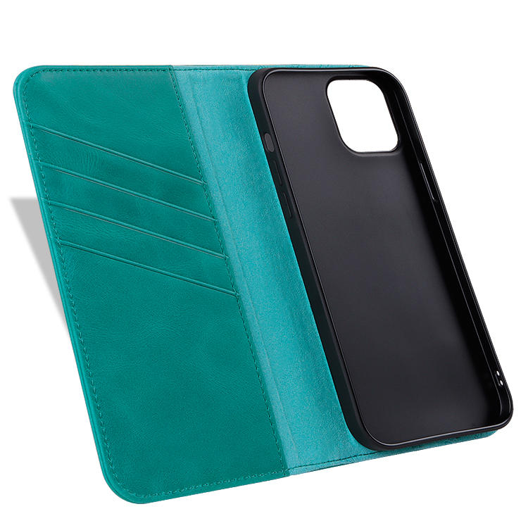 Real Leather Flip wallet phone case wallet clip Mobile Phone back cover cases For iPhone 12 Case with card holder custom LOGO