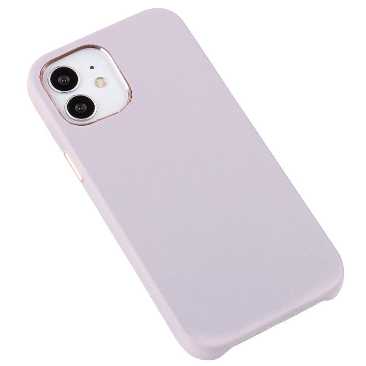 AIVI Grain Premium Phone Cover First Layer Cowhide Leather For iphone 12 Case