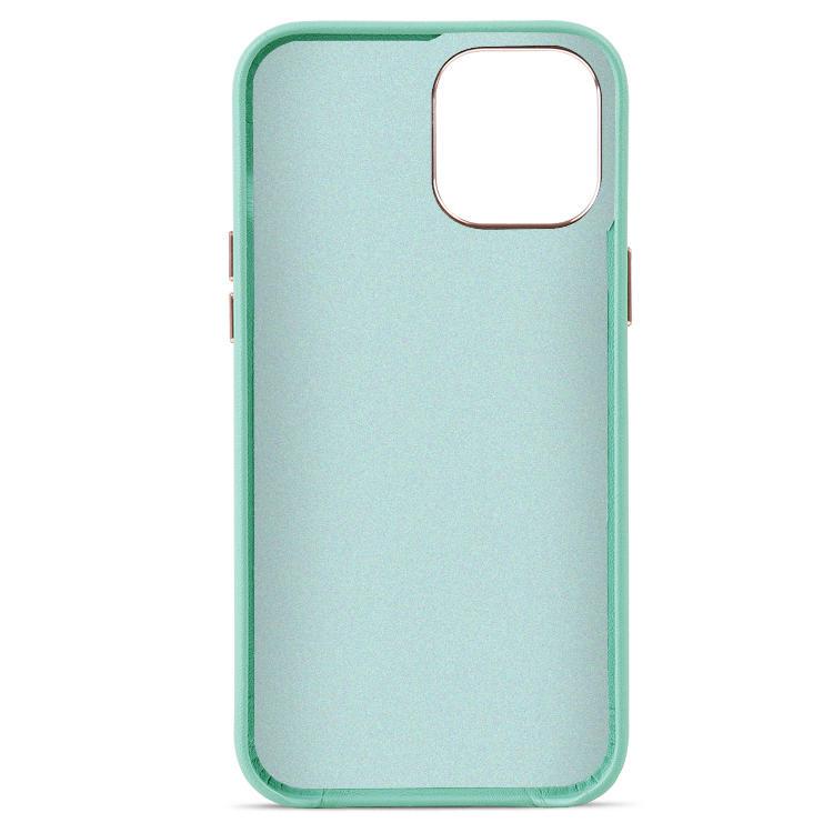 AIVI Premium Genuine Leather Soft Fabric Inner Shock Phone case for iphone 12 pro max