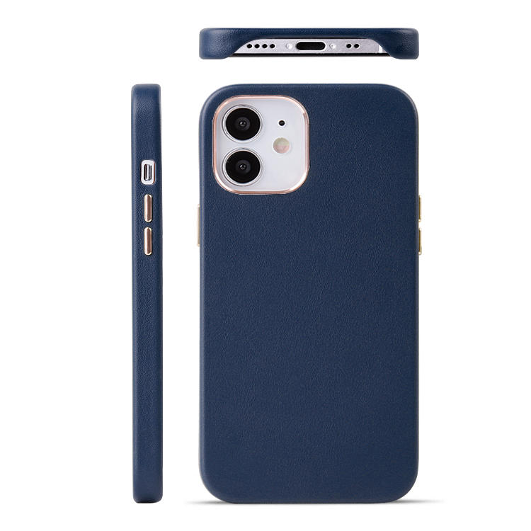 Wholesale Leather Phone Case For iphone 12 Leather Phone case OEM Luxury Leather Phone Cover