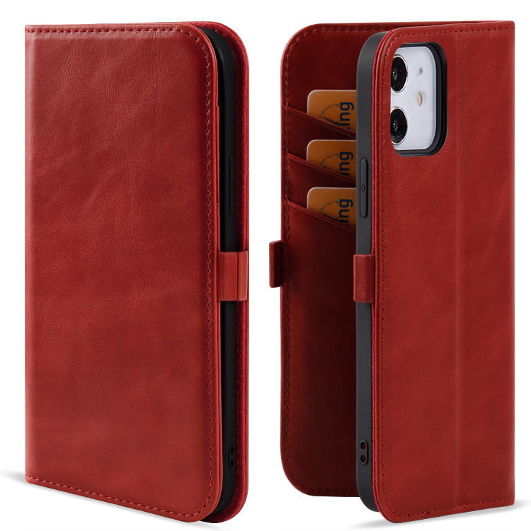 Real Leather Wallet Case For Iphone 12/12 pro/12 pro max