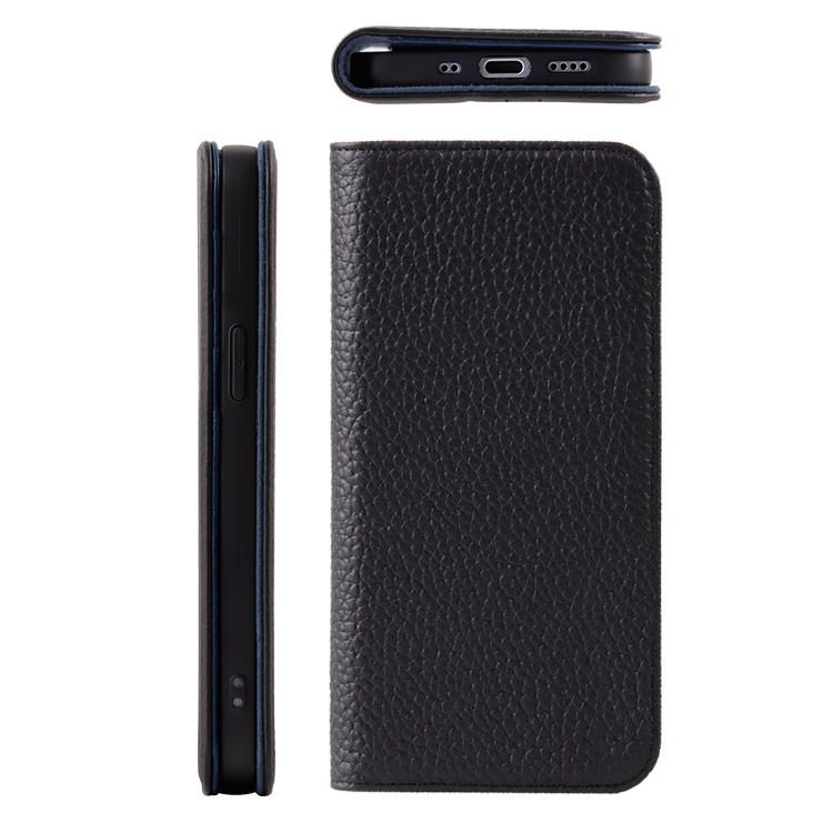 2020 Luxury Flip Cover Genuine Leather Phone Case For iPhone 12 Card Slot Phone Wallet Case