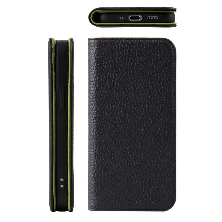 High end Market Genuine Leather Card Holder Wallet Mobile Phone Case for iphone12 Pro Max