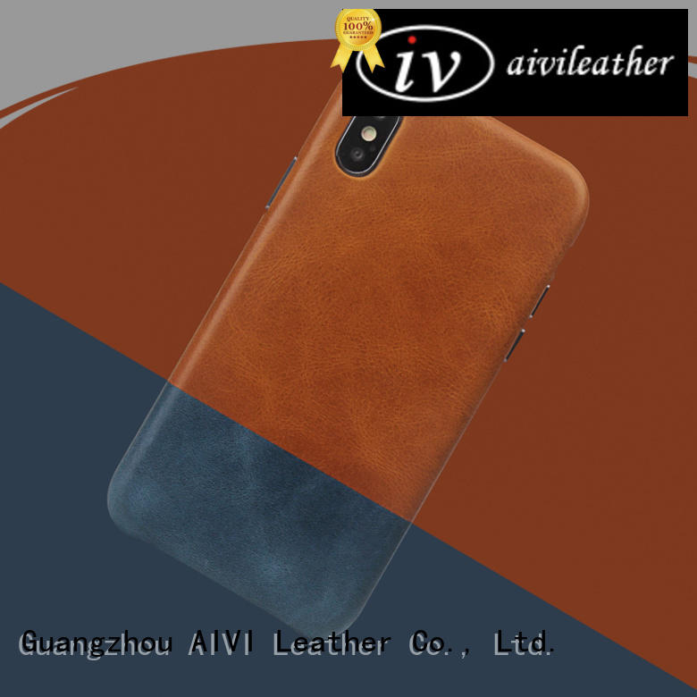 AIVI beautiful apple iphone leather case online for iphone XS Max