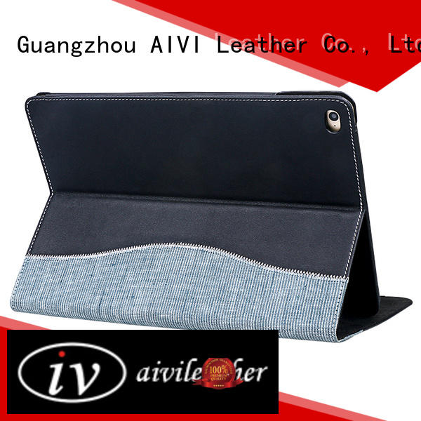 AIVI protective luxury leather ipad case online for computer