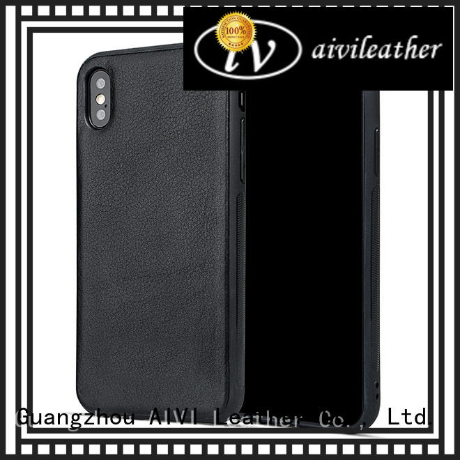 quality real leather phone cases fashion iphone 7/7 plus AIVI