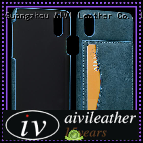 AIVI reliable iphone pouch case leather protector for iphone X
