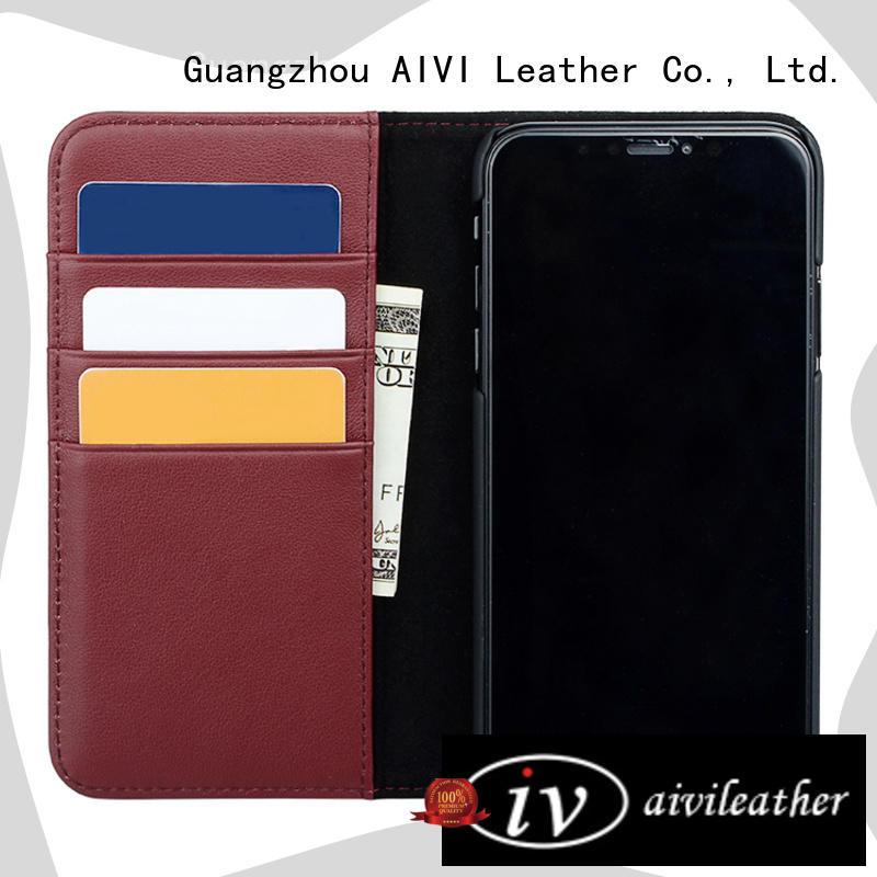 customized premium leather iphone case iphone 8 / 8plus AIVI