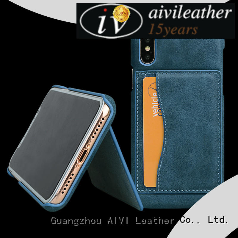 AIVI best best leather phone cases protector for iphone X