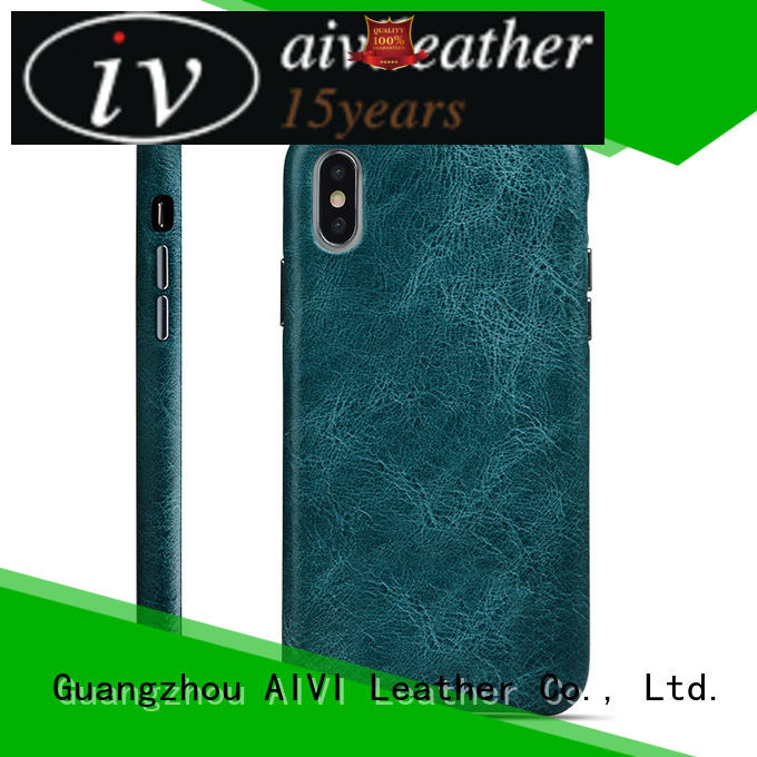AIVI best green leather iphone case protector for ipone 6/6plus