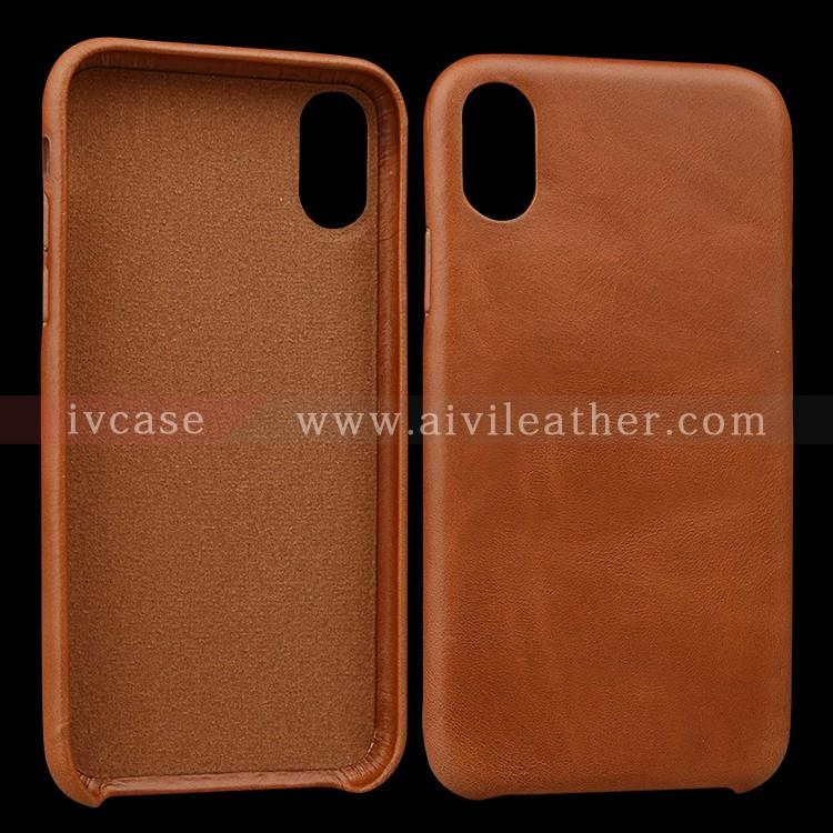 AIVI reliable apple genuine leather case accessories for iphone X-2