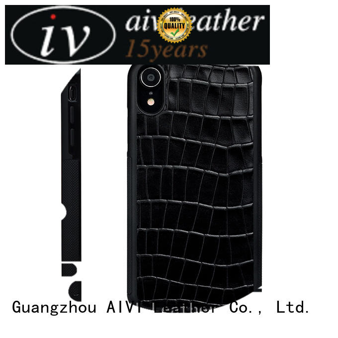 end mens leather phone case for iPhone XR for ipone 6/6plus AIVI