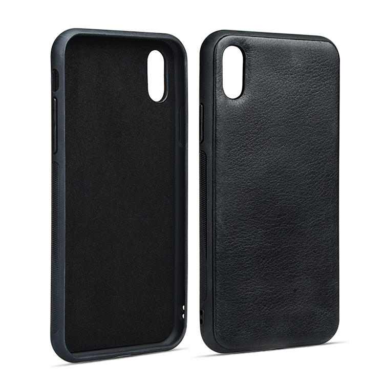 For Apple Genuine Leather Case Durable Fashionable Phone Case For Iphone X/XS-2