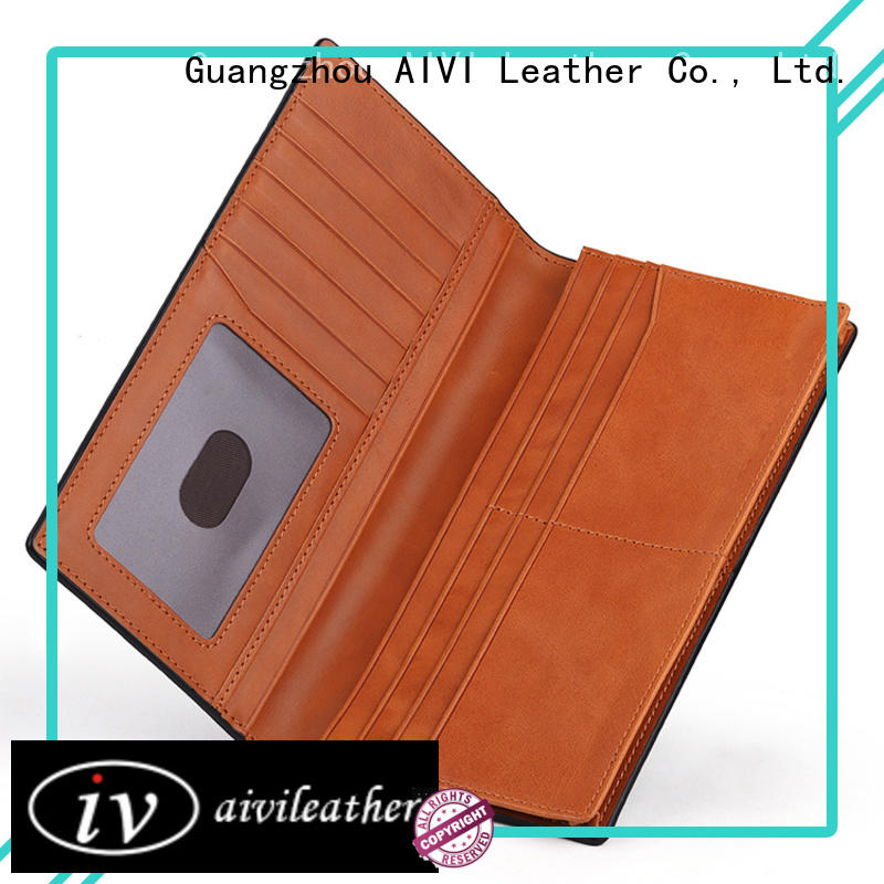 reliable leather card holder wallet mens supply for iphone 7/7 plus