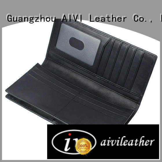 AIVI leather travel wallet for sale for men