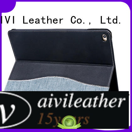 AIVI ultrathin personalized ipad case leather manufacturer for computer