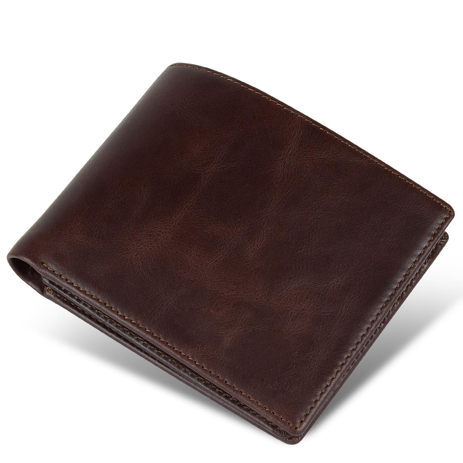 fashion custom leather wallets Manufacturer for travel-2