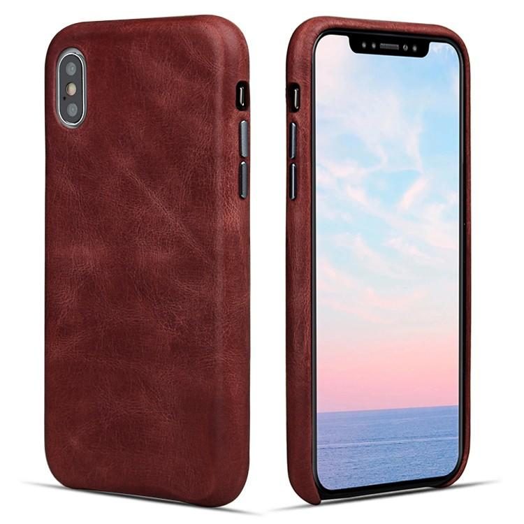 AIVI customized genuine leather iphone case accessories for iphone XS-1