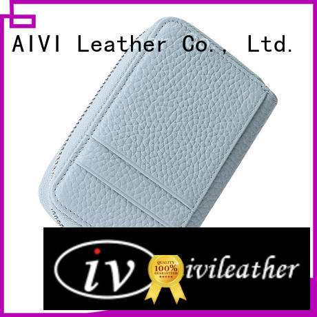 AIVI slim leather card holder wallet supply for iphone XR