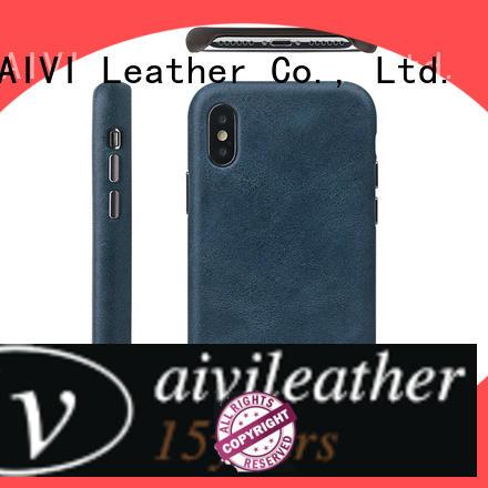 AIVI super iphone leather flip case accessories for iphone X