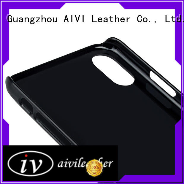 AIVI durable quality leather phone cases factory for ipone 6/6plus