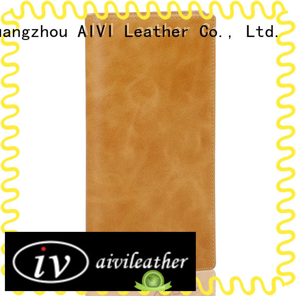 AIVI leather card holder wallet manufacturer for phone XS Max