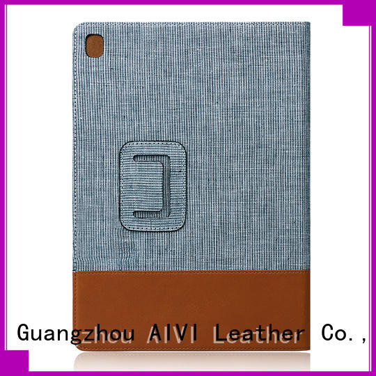AIVI customized real leather ipad case for sale for computer