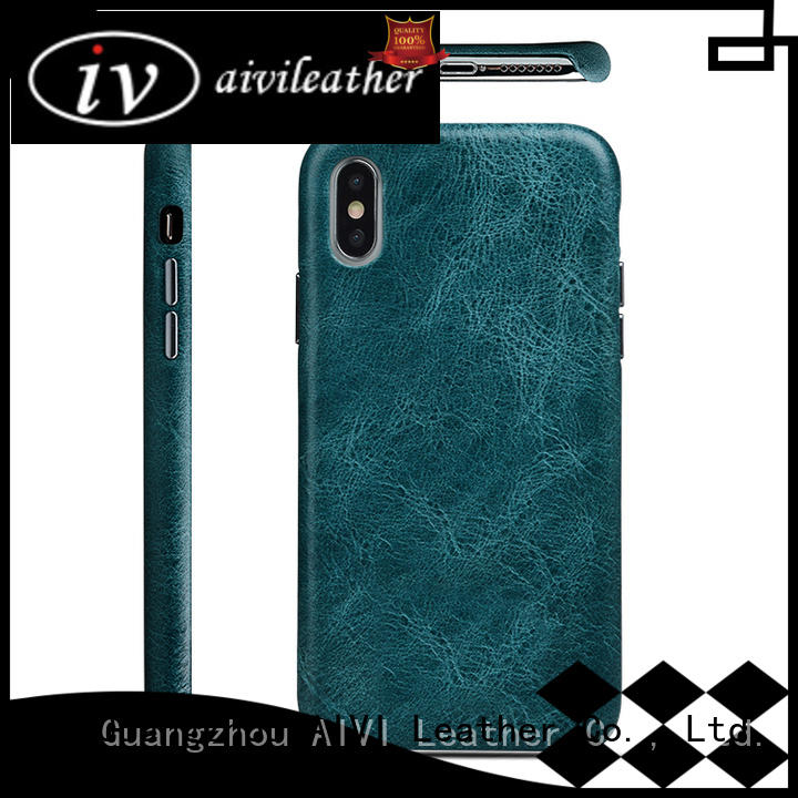 fashion custom leather iphone case accessories for iphone 8 / 8plus
