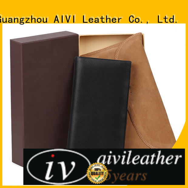 AIVI personalized leather card case wallet supply for iphone 7/7 plus