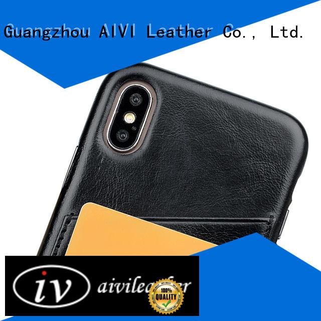 mobile apple genuine leather case accessories iphone 8 / 8plus