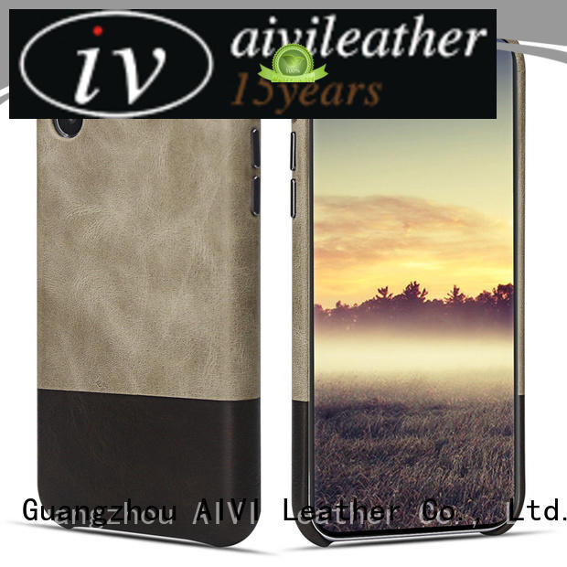 AIVI custom leather phone case for iPhone XS Max for iphone XS